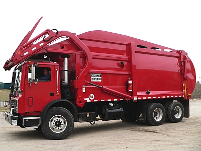 Front Loader Truck Bin Service in Haldimand, Norfolk and Eastern Oxford County