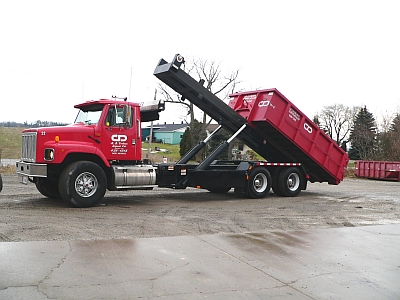 Roll Off Truck Bin Service in Springford, Ontario